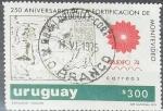 Stamps of the world : Uruguay :  250 años de la fortificación de Montevideo