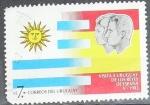 Stamps Uruguay -  Visita a Uruguay de los reyes de España