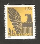 Sellos de America - Estados Unidos -  águila del escudo americano