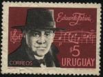 Sellos de America - Uruguay -  Músico uruguayo Eduardo Fabini.