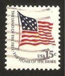 Stamps United States -  bandera de fuerte mc henry