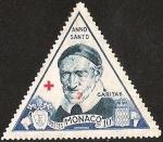 Stamps of the world : Monaco :  ANNO SANTO - CARITAS