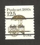 Sellos de America - Estados Unidos -  vehículo 1880