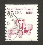 Sellos de America - Estados Unidos -  camión 1910