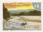 Stamps Argentina -  Mina Clavero (Córdoba)