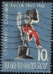 Stamps Uruguay -  100 años de la ciudad de Colonia Suiza.