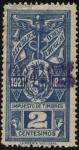 Sellos de America - Uruguay -  Timbre impuesto a�os 1921-1922.