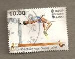 Stamps Sri Lanka -  10 Juegos Asiaticos del sur