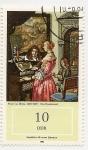 Stamps : Europe : Germany :  Concierto en Casa (F. Van Mieris)
