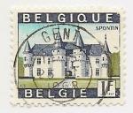 Stamps Belgium -  Castillo de Spontin