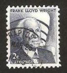 Sellos de America - Estados Unidos -  frank lloyd wright, arquitecto