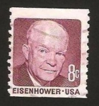 Stamps : America : United_States :  presidente eisenhower
