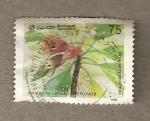 Stamps Asia - Sri Lanka -  Flor en germinación en el manglar