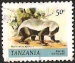 Sellos del Mundo : Africa : Tanzania : RATEL NYEGERE