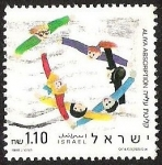 Sellos de Asia - Israel -  ALIYA ABSORPTION