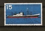 Stamps Germany -  DBP / Dia de la Marina.