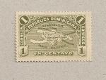 Stamps Dominican Republic -  Mapa de la isla