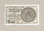 Sellos de Europa - Francia -  Independencia de los EEUU