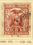 Sellos del Mundo : America : Ecuador : Litografia serie 1887