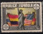Stamps Spain -  763  CL Aniversario de la Constitución de los EEUU