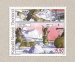 Stamps Europe - Greenland -  Comics de Groenlandia