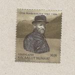 Sellos de Europa - Groenlandia -  Otto Nordenskjöld, explorador sueco