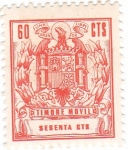 Stamps Spain -  España. Timbre móvil