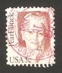 Stamps United States -  pearl buck, escritora