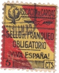 Stamps Spain -  Sello de Franqueo Obligatorio. Viva España