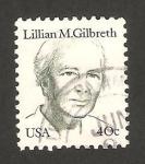 Sellos de America - Estados Unidos -  lillian m. gilbreth, escritora