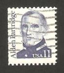 Sellos de America - Estados Unidos -  alden partridge, militar