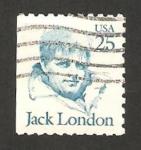 Sellos de America - Estados Unidos -  jack london, escritor