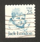 Sellos de America - Estados Unidos -  jack london, escritor