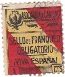 Stamps Spain -  Asociación de Caridad