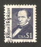 Sellos de America - Estados Unidos -  John Hopkins, financiero