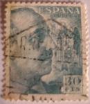 Sellos de Europa - España -  General Francisco Franco