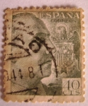 Stamps Europe - Spain -  General Francisco Franco