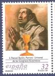 Stamps Spain -  Edifil 3506 San Pascual Baylón 32 NUEVO