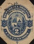 Stamps America - Uruguay -  Escudo del Uruguay.