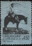 Stamps Uruguay -  El General Artigas en el Hervidero.