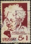 Stamps Uruguay -  Domingo Arena. Polìtico, periodista, estadista.