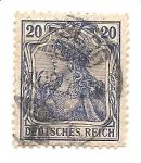 Stamps Germany -  correo terrestre