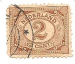 Stamps Netherlands -  correo terrestre
