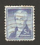 Stamps United States -  590 - James Monroe