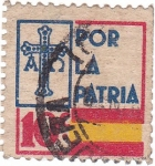 Sellos de Europa - España -  Por la Patria