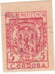 Sellos de Europa - España -  ProBeneficiencia. Córdoba