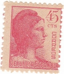 Stamps Spain -  República Española