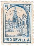 Stamps Spain -  Pro Sevilla