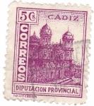 Sellos del Mundo : Europa : España : Cádiz. Diputación Provincial.