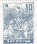 Stamps : Europe : Spain :  Escudo